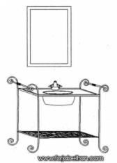 Conjunto de baño forja Mod. MIAMI VERONA