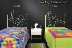 Dormitorios Infantiles : Cabeceros infantiles mod. BEISBOL y BALONMANO