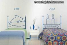Dormitorios Infantiles : Cabeceros infantiles mod. DELFIN y BARCO