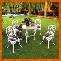 Sillas Para Jardin De Herreria Fotos E Ideas Para Hacer Muebles Con - Sillas-de-forja-para-jardin