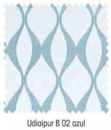 Udiaipur B02 Azul